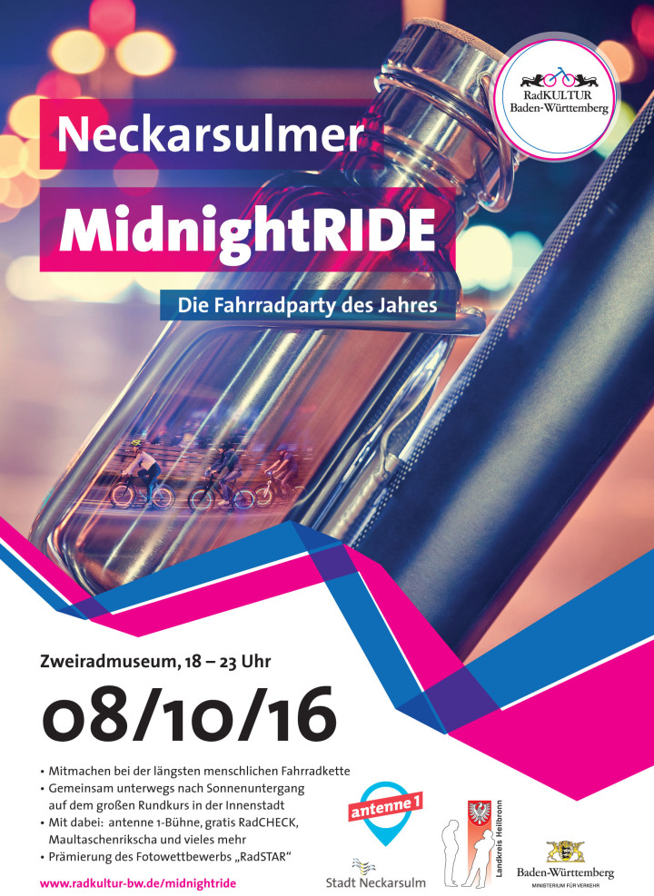 Flyer des MidnightRide